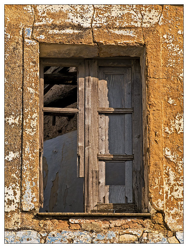 Old window in Laconi