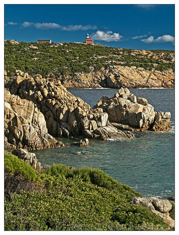 Capo Spartivento Lighthouse, Sardinia