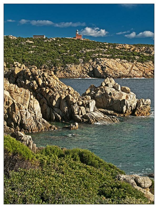 Capo Spartivento Lighthouse, Sardinia
