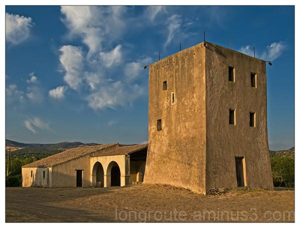Tower of Sant'Isidoro, Teulada, Sardinia