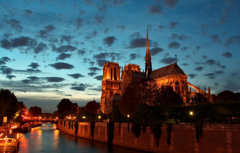 Paris Pont de l'Archevêché