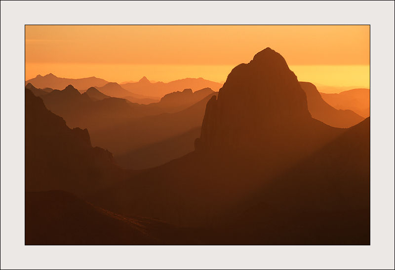 Sunrise in Assekrem (Hoggar) - Algeria