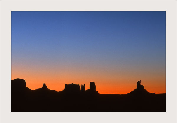 Sunrise in Monument Valley, USA