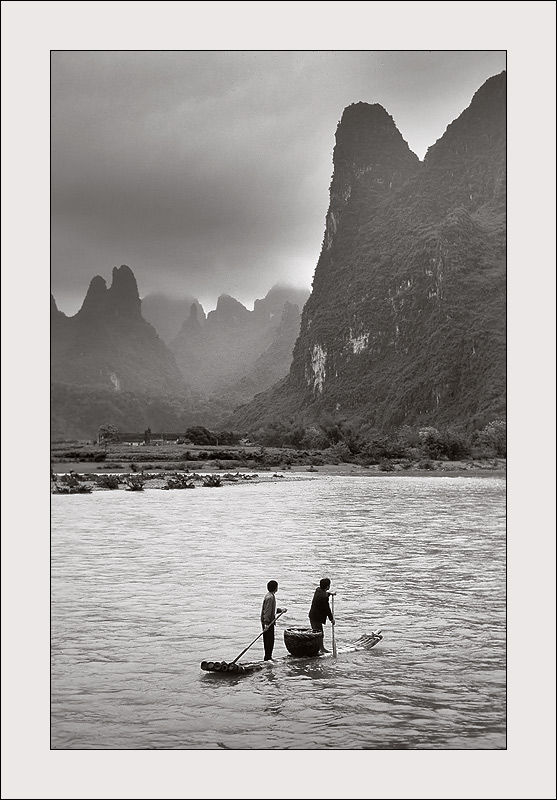 Li River in Guangxi, China