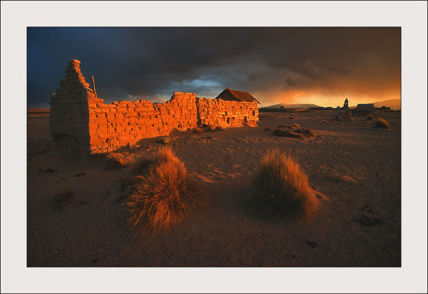 Before the storm on the altiplano, Bolivia
