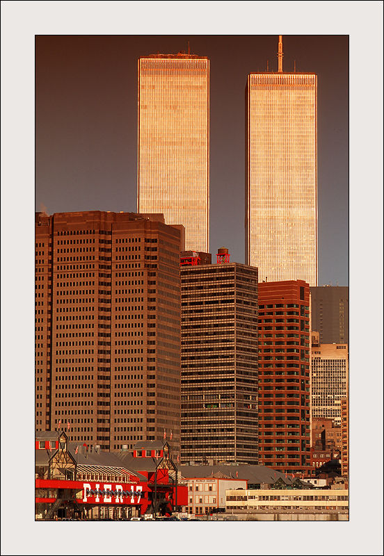 Twin Towers in New York City, United States