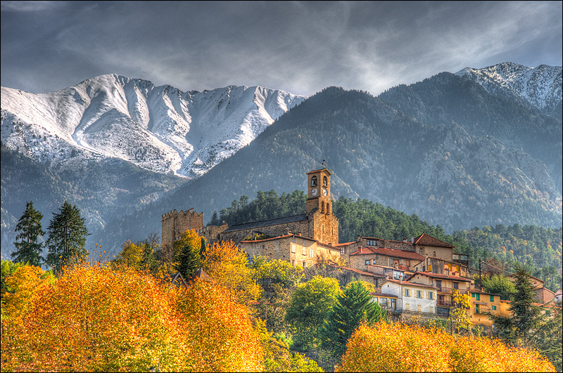 The Canigou mountain in France