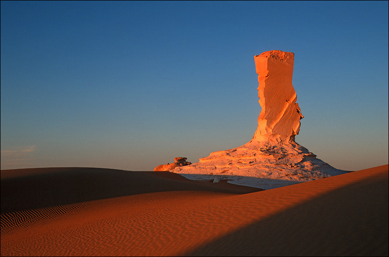 Sunset in the White Desert, Egypt