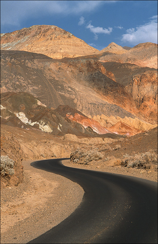 Death Valley road, United States