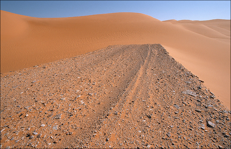 End of the track, Libya