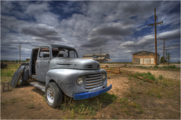 Old truck in New-Mexico - USA