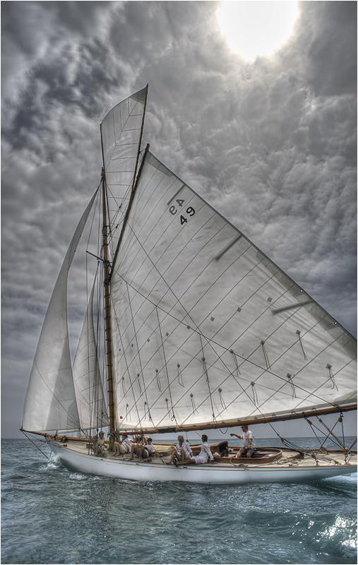 Sailing on Mediterranean Sea, France