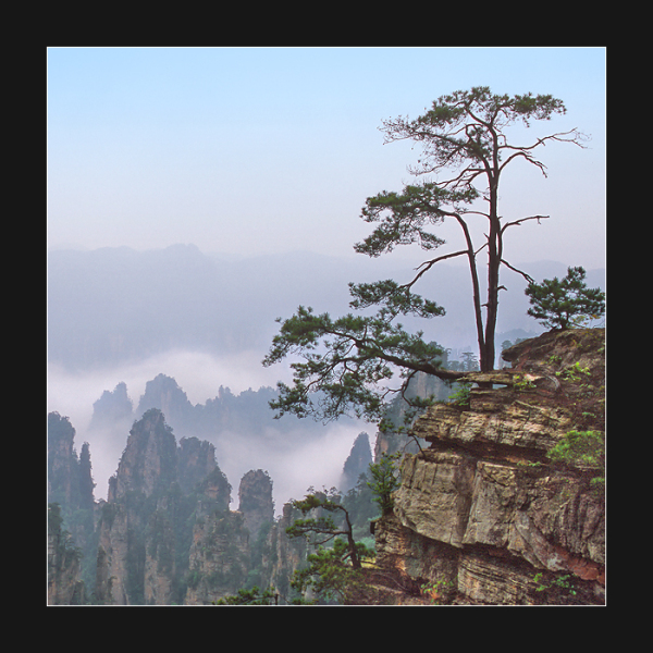 Zhangjiajie scenary, China