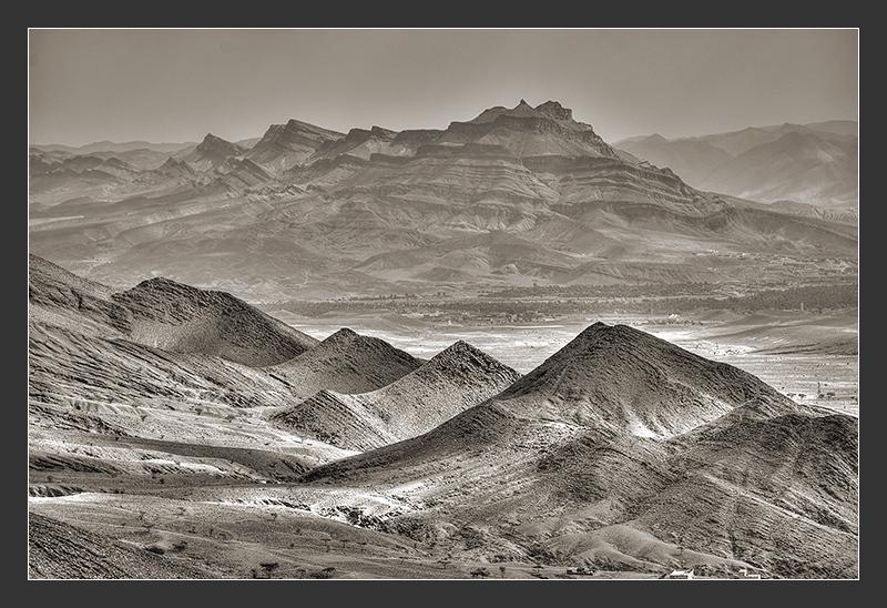 Morocco Landcape from Tichka