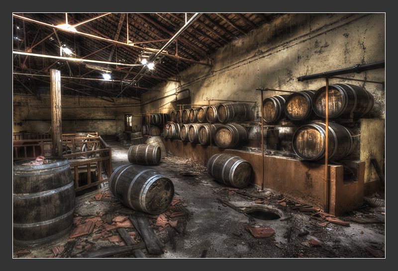 old wine cave in France, Paziols