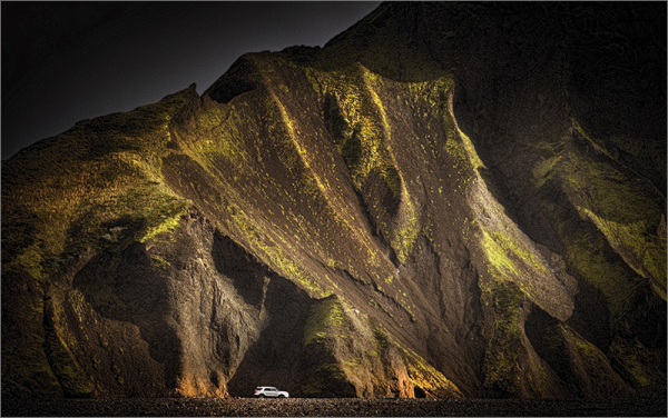 Light from Iceland