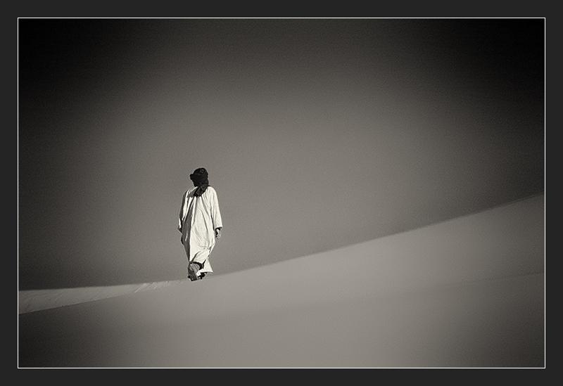 Touareg in the desert