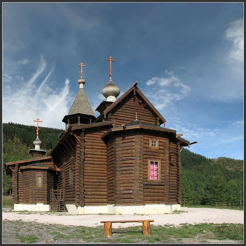 Église orthodoxe russe de l'Hétimasie, Sylvanès