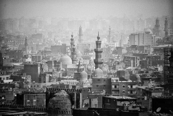 B/W view of Cairo