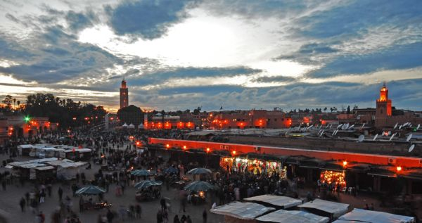 Sunset on Marrakech