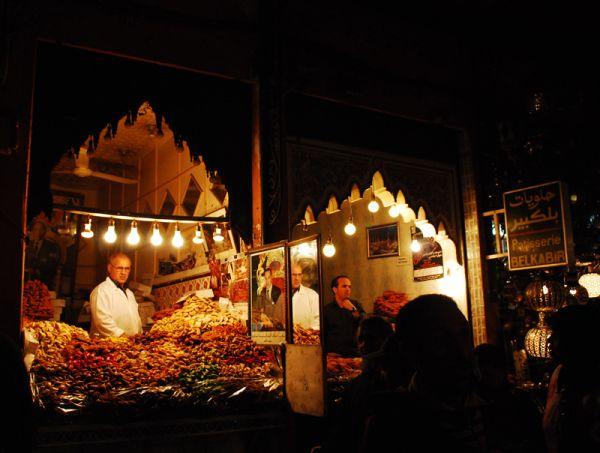 Shops of Marrakech's suq