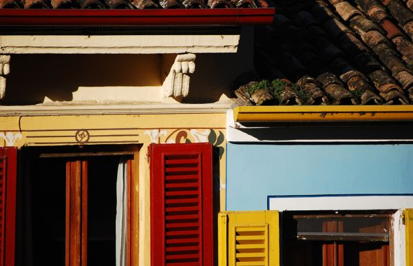 Detail of a building in Desenzano