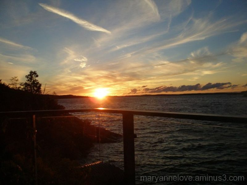 Sunset, Parry Sound, Ontario