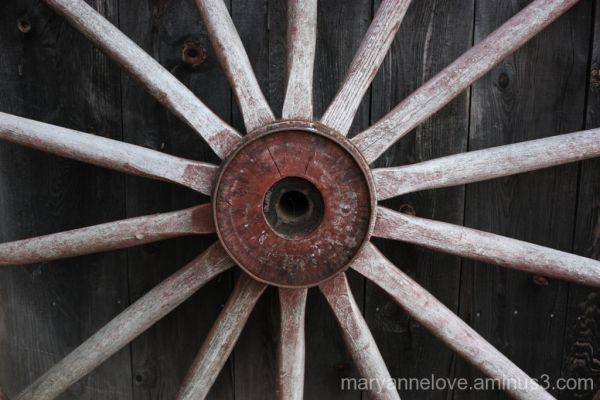 Sunburst Wagon Wheel