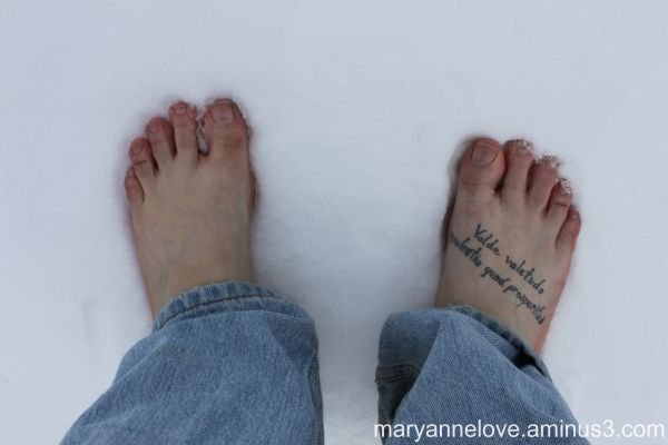 Cold Feet!