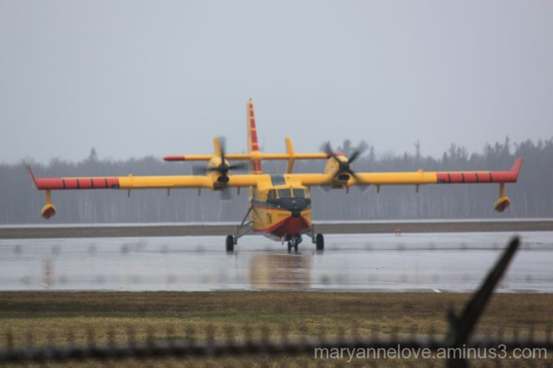 CL-415 Water Bomber