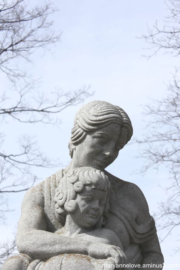 Somebody's Mother Memorial Statue, Orillia Ontario