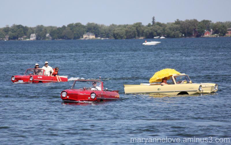 Amphibious Cars - Amphicars