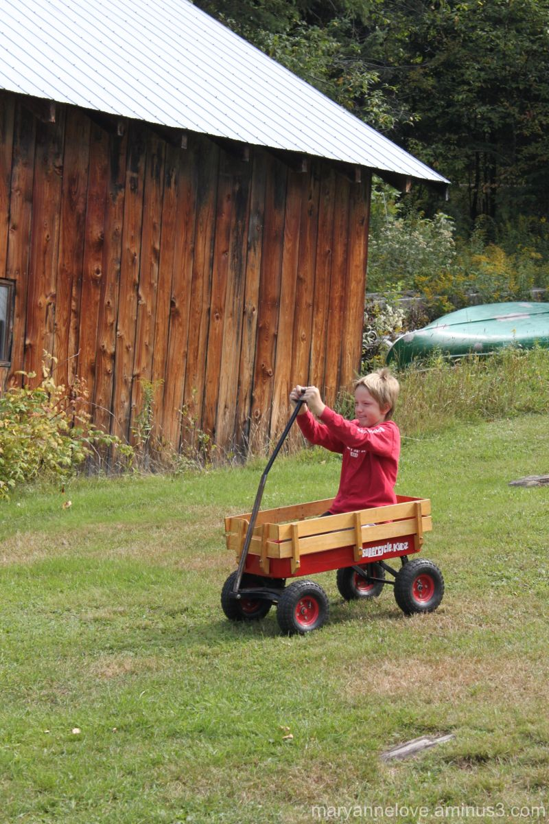 Little Red Wagon Ride