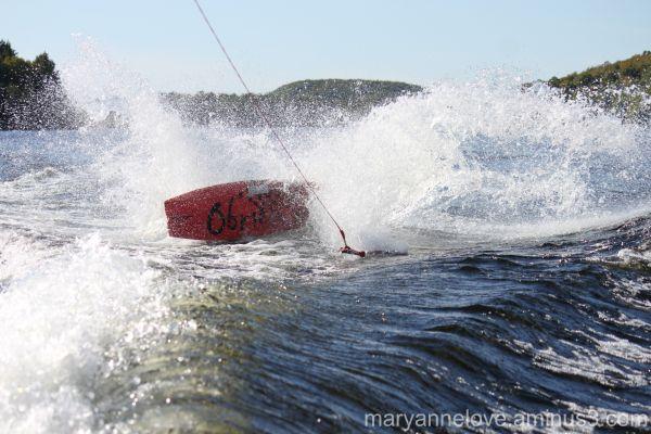 Wake Board Wipeout