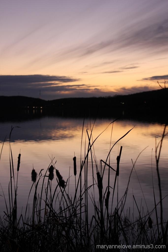 Sunset On Hunters Bay