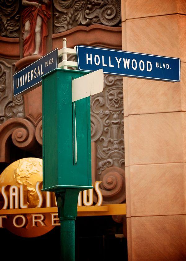 Street Sign at Universal Studios
