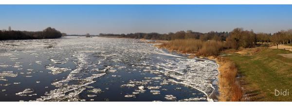 Glaces sur la Loire