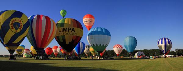 Festival des montgolfières 2012 à Olivet Loiret I