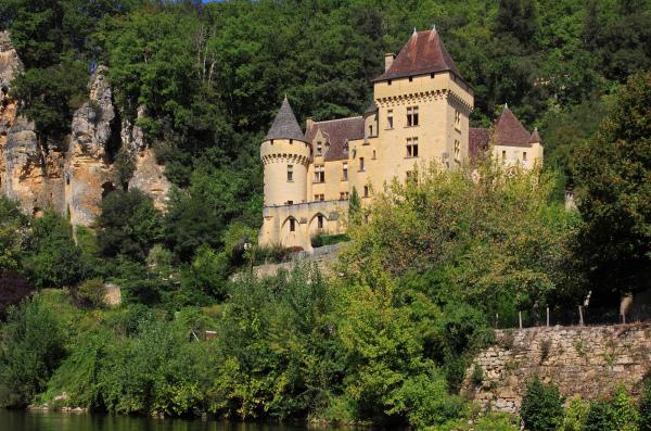 En gabarre sur la Dordogne