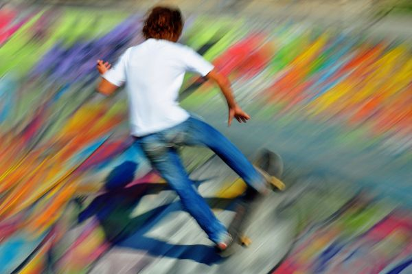 Le skate c'est grisant