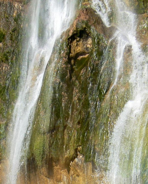 gorilla in the plitvice falls !