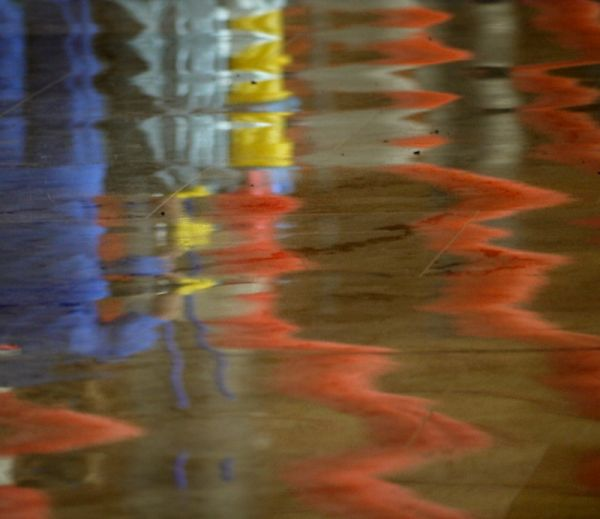 ground reflections madrid airport spain