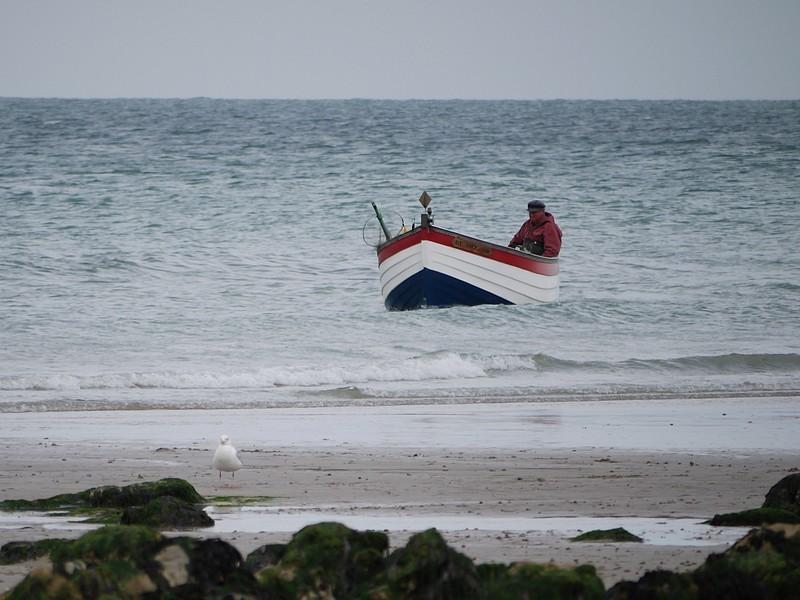monsieur et sa barque