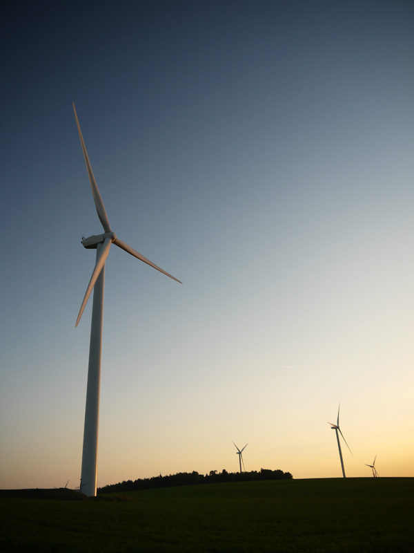 fin de journée chez les éoliennes 4