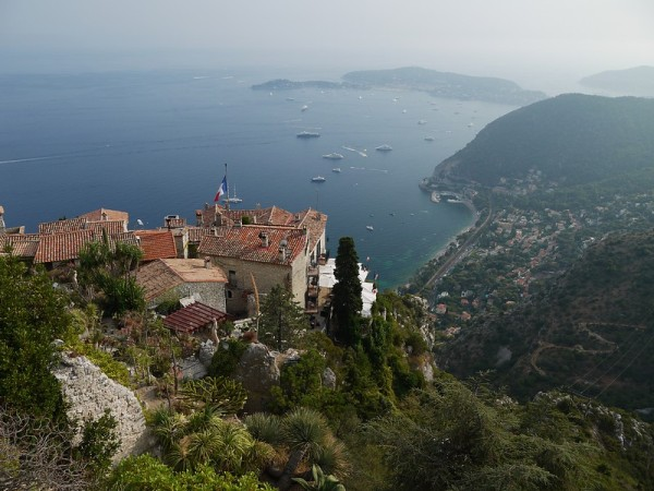 Eze, from the top