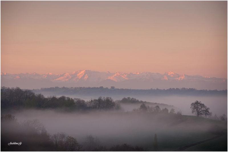Petit matin en Béarn  ...