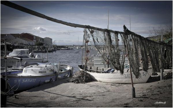 Le petit port de pêche ...