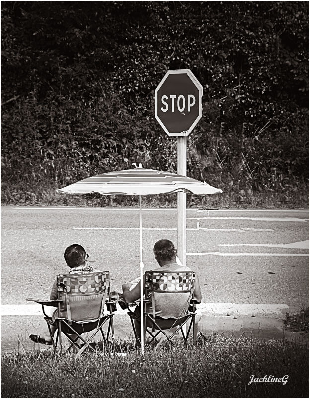 Respecter le Stop ...