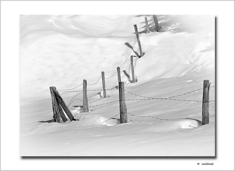 Quand l'hiver dépasse les limites ...