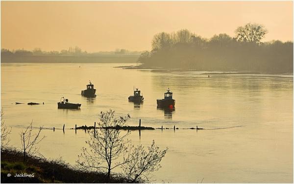 Quand la Loire s'endort ...